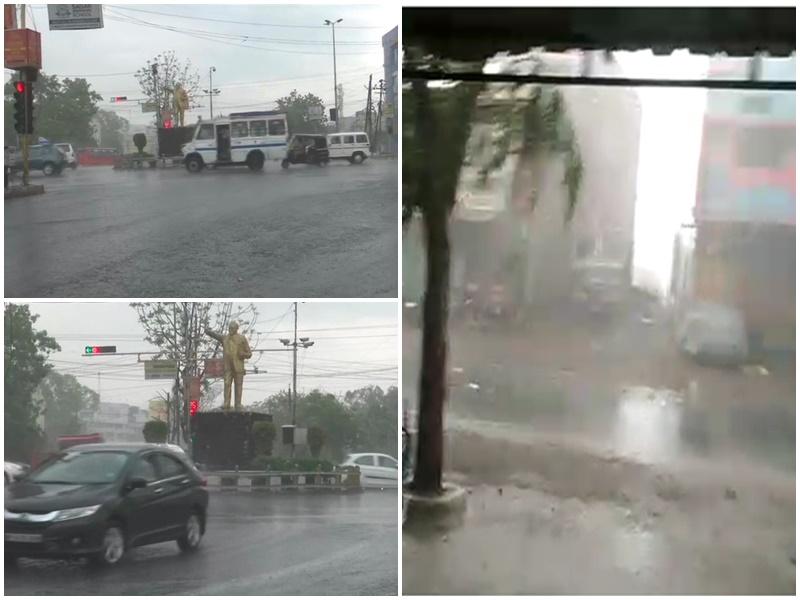 Madhya Pradesh Weather Alert : भोपाल-इंदौर के अलावा इन शहरों में भी जोरदार बारिश, देखें VIDEO