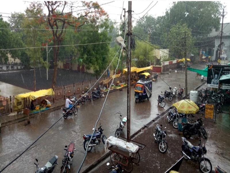 Monsoon Update 2019 : निमाड़ के बाद मालवा के इस जिले में पहुंचा मानसून, यहां हो रही तेज बारिश