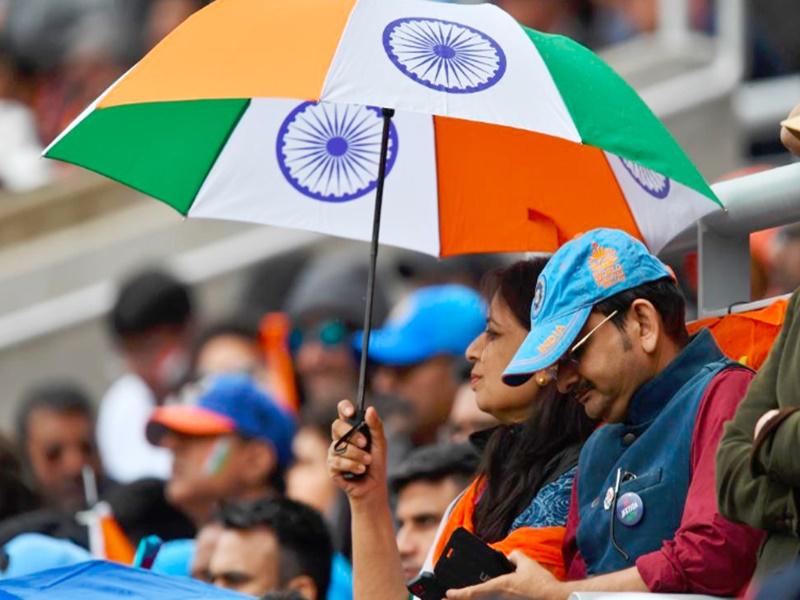 India vs New Zealand : बारिश ने बिगाड़ा खेल, अब बुधवार को होगा आगे का मैच