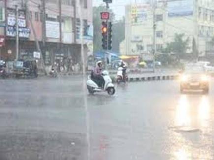 इंदौर में दो दिन में ढाई इंच बारिश अभी मेहरबान रहेंगे बादल
