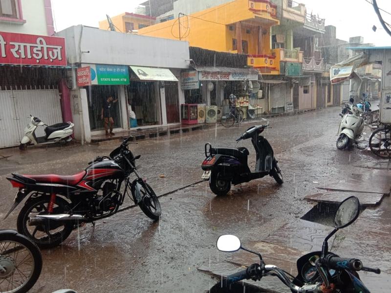 Weather Updates : MP में भीषण गर्मी के बाद बारिश, खरगोन में आकाशीय बिजली से 2 की मौत