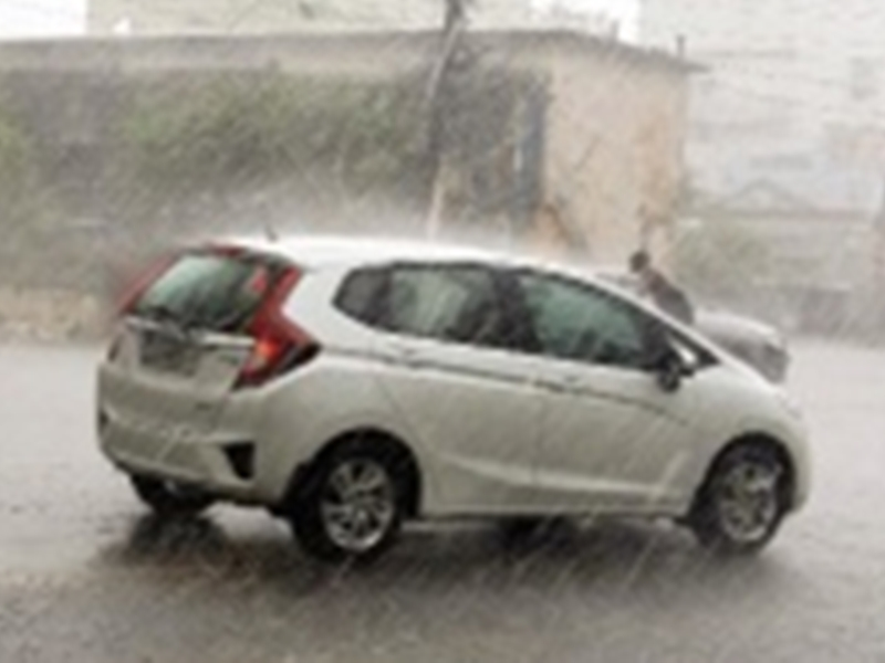 Chhattisgarh Weather Update : आसमान में छाए बादल, शहर में हुई बारिश