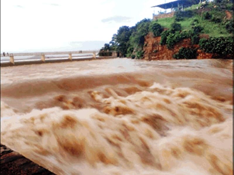 Chhattisgarh Weather Alert : तेजी से बढ़ रहा खूंटाघाट का पानी, गांवों में अलर्ट जारी