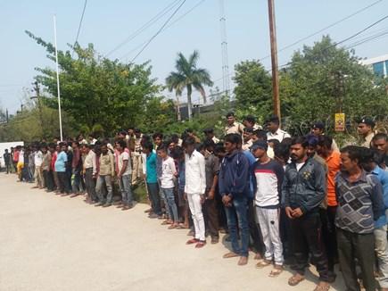 VIDEO: Raipur Police ने 3 घंटे में पकड़े 200 बदमाश
