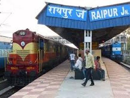 raipur station 14 03 2018