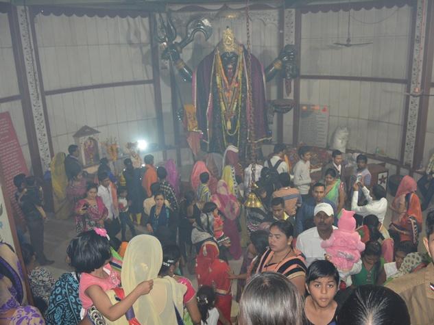 राजनांदगांव पाताल भैरवी मंदिर में भक्तों ने मनाया नया वर्ष