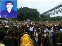 Khargone News : आर्मी जवान की ड्यूटी के दौरान मौत, अंतिम यात्रा में उमड़ा निमाड़ अंचल