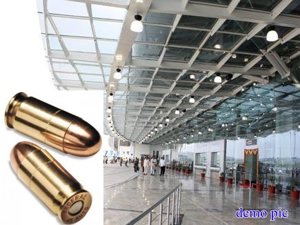 भोपाल : एयरपोर्ट पर पूर्व सांसद की पत्नी के बैग से मिले 2 जिंदा कारतूस