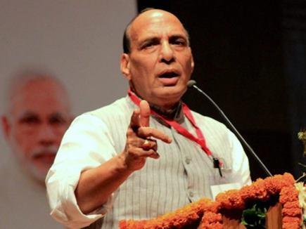 कश्मीर की रक्षा के लिए सीमा पार कर जाएंगे : राजनाथ सिंह