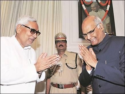 जानिए, किन कारणों से नीतीश को इतना भा गए एनडीए के 'राम'
