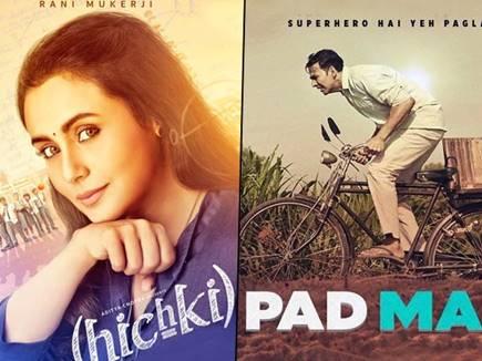 Box Office : 'पैड मैन' से ज्यादा फायदेमंद साबित हुई 'हिचकी'
