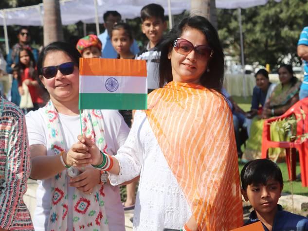 गणतंत्र दिवस से पहले वतन के साथ थीम पर सेलीब्रेशन