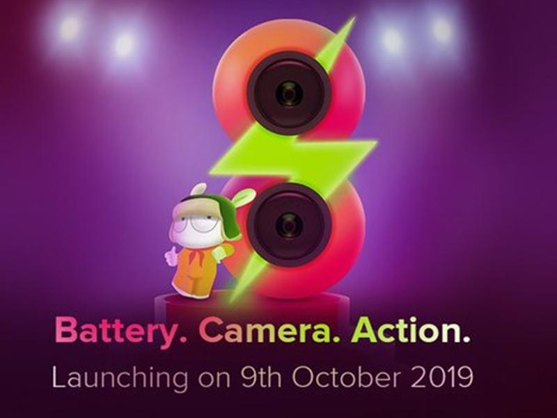 Redmi 8: भारत में 9 अक्टूबर को होगा लॉन्च, यह हो सकते हैं फीचर्स