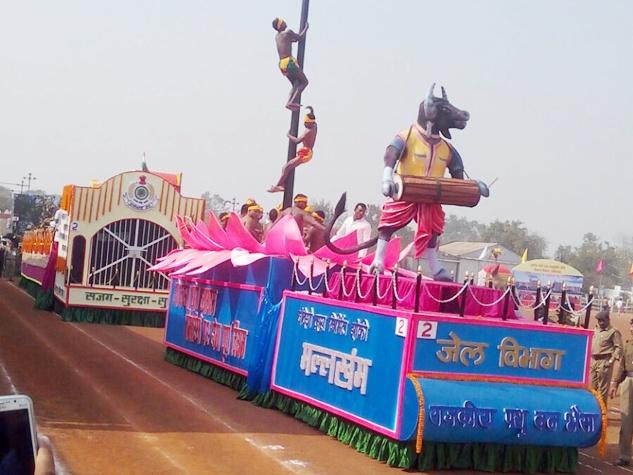 रायपुर सहित प्रदेशभर में हर्षोल्लास संग मनाया गया गणतंत्र दिवस