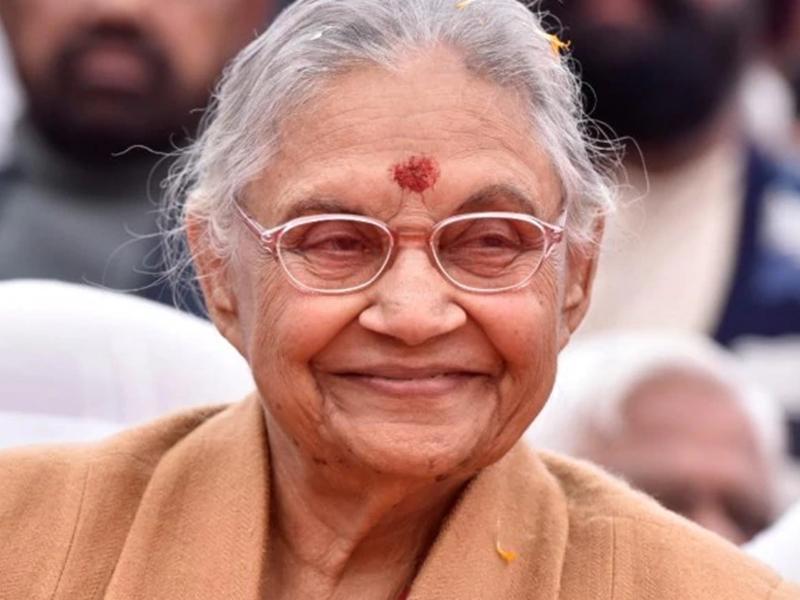 Sheila Dikshit Passes Away: शीला दीक्षित का 81 साल की उम्र में निधन, आज होगा अंतिम संस्कार