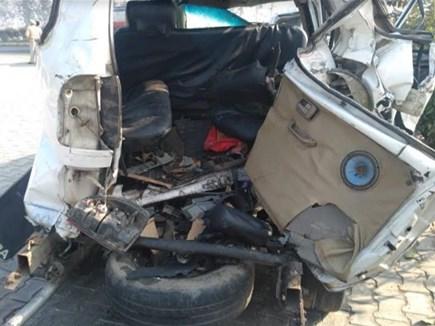 वृंदावन जा रहे 7 लोगों की सड़क हादसे मेंं मौत, 9 लोग घायल