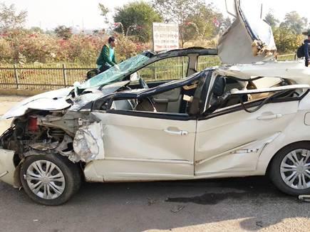 रायपुर में दर्दनाक सड़क हादसा, छात्रा की मौत