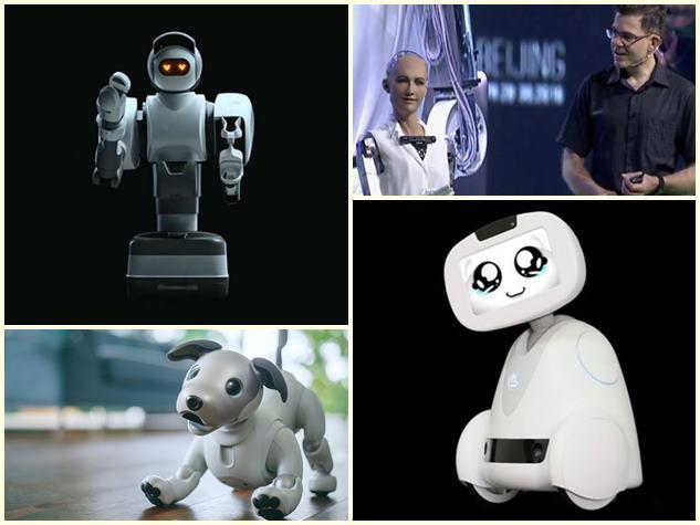 CES 2018: एक रोबोट फैमिली को पहचानता है तो दूसरा करता है डांस