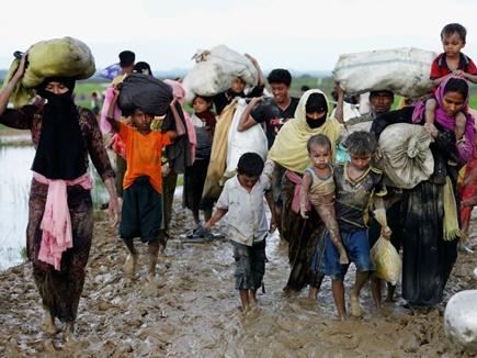 एक लाख रोहिंग्या को निर्जन टापू पर  बसाएगा बांग्लादेश
