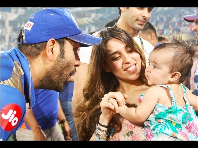 Video IPL 2019 Final : मुंबई के चैंपियन बनने के बाद पत्नी रितिका ने लिया कप्तान रोहित का रोचक इंटरव्यू