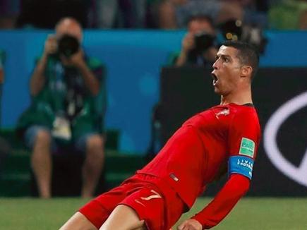 रोनाल्डो ने दिखाया दम, पुर्तगाल-स्पेन मैच 3-3 से ड्रा