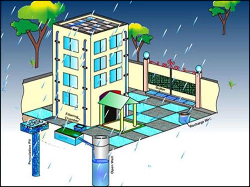 इस मानसून छत से बुझेगी धरती की प्यास, हर घर बचाएगा एक लाख लीटर पानी