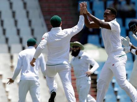 सेंचुरियन टेस्ट जीतने वाली द. अफ्रीकी टीम पर जुर्माना, यह है मामला