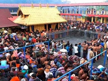 सबरीमाला में तनाव, महिलाओं को पवित्र पर्वत पर जाने से रोका, बुधवार को खुलेगा मंदिर का द्वार