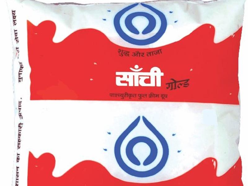 Bhopal News : फटे मिल रहे सांची के दूध पैकेट, सादा दही भी बाजार से गायब