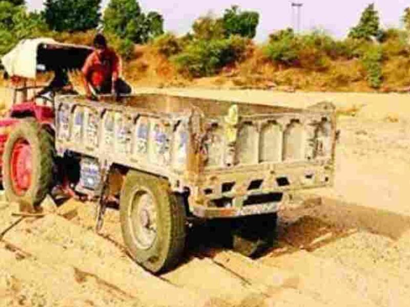Madhya Pradesh :  भिंड में रेत माफिया के 5 ट्रक जब्त, 10 मुखबिर पकड़े गए