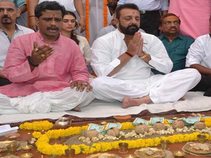 sanjay dutt at varanashi 13 09 2017