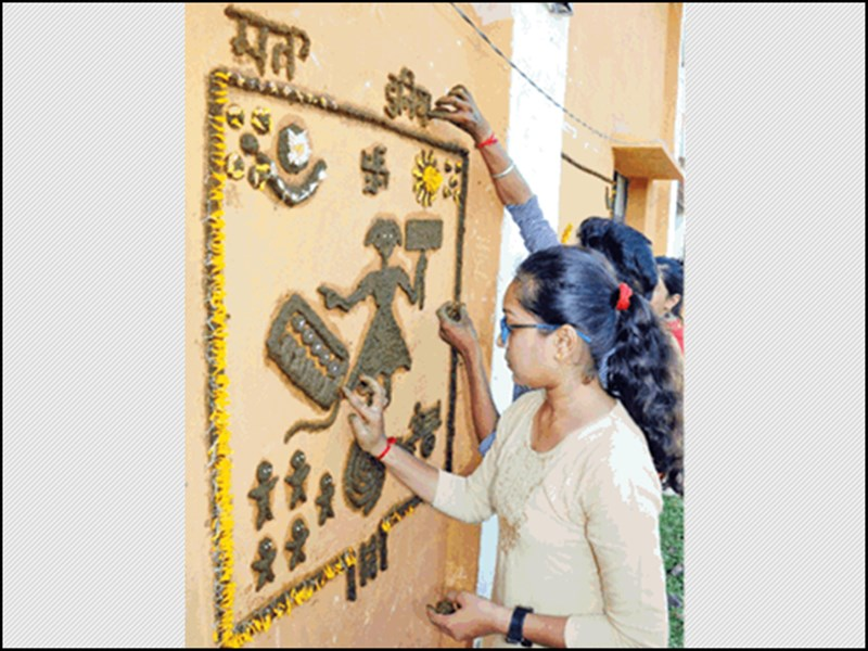 Sanjha Festival : संजाफूली पर्व से जीवंत निमाड़ की लोककला