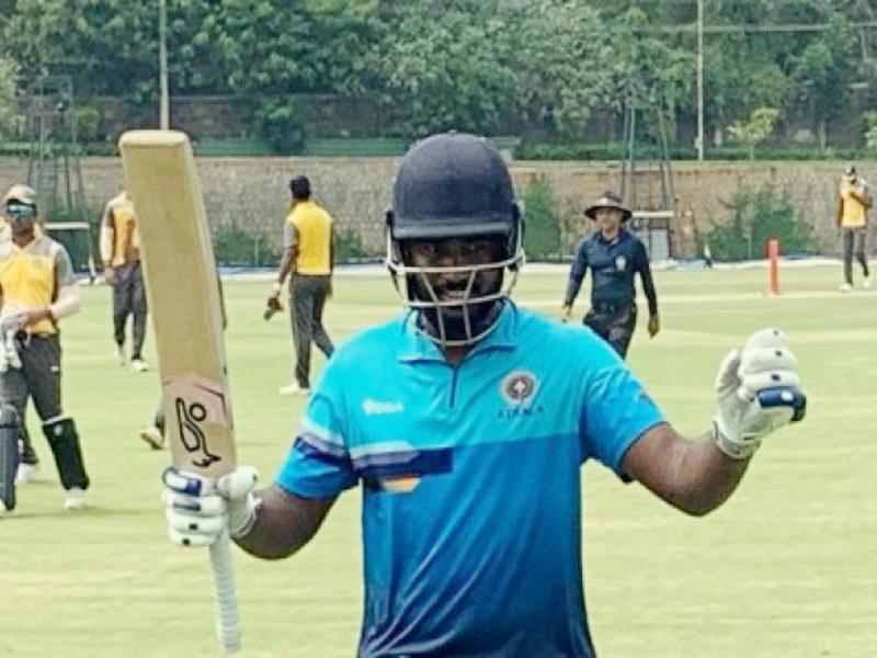 Vijay Hazare Trophy 2019: संजू सैमसन का तूफानी दोहरा शतक, तोड़े कई रिकॉर्ड
