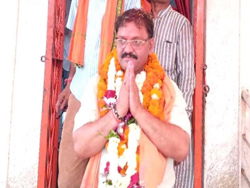 Rajnandgaon Election Result 2019: राजनांदगांव से भाजपा प्रत्याशी संतोष पांडे बड़ी जीत