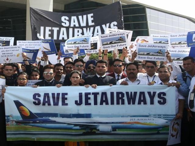 Jet Airways: जेट की बदहाली से 20 हजार परिवारों के बिगड़े हालात