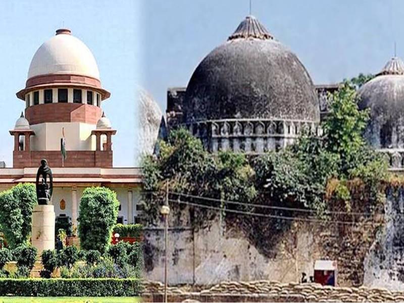 सुप्रीम कोर्ट में अयोध्या राम जन्मभूमि मामले की सुनवाई जारी, निर्मोही अखाड़ा रख रहा पक्ष !  New Delhi News