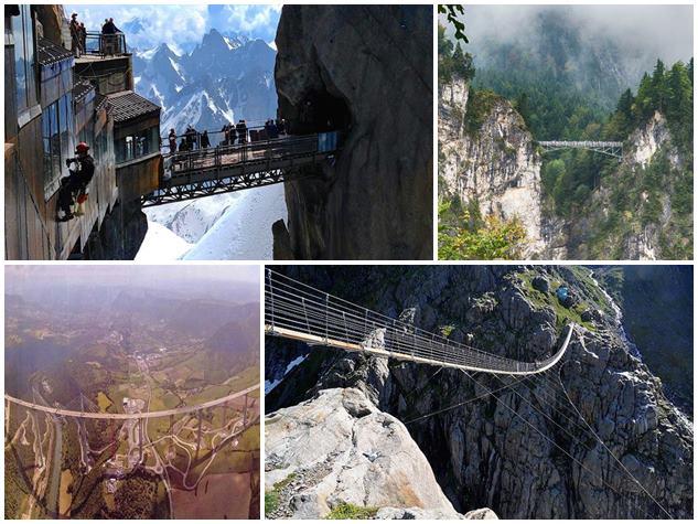 PHOTOS : ये हैं दुनिया के सबसे डरावने पुल