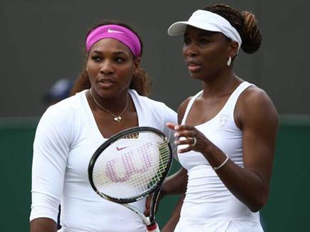 Fed Cup : वापसी के बाद बहन संग डबल्स में हारीं सेरेना विलियम्स