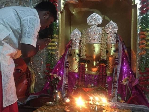 शाजापुर जिले में मां बगलामुखी के दरबार में पहुंचे भक्त