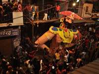 शाजापुर में कंस वधोत्सव : 264 साल पुरानी परंपरा निभाई, सड़कों से गुजरे देवता और दानव