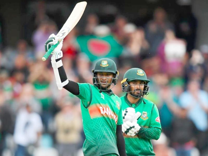 ICC Cricket World Cup 2019 BANvsWI: शाकिब के शानदार शतक से बांग्लादेश ने वेस्टइंडीज को हराया