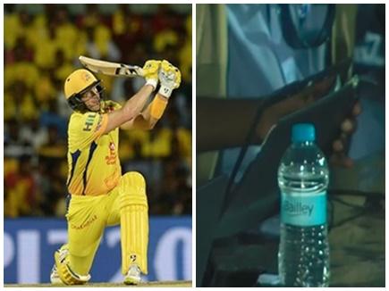IPL11: जब वॉटसन के छक्के से टूटा जर्नलिस्ट का लैपटॉप, देखें VIDEO