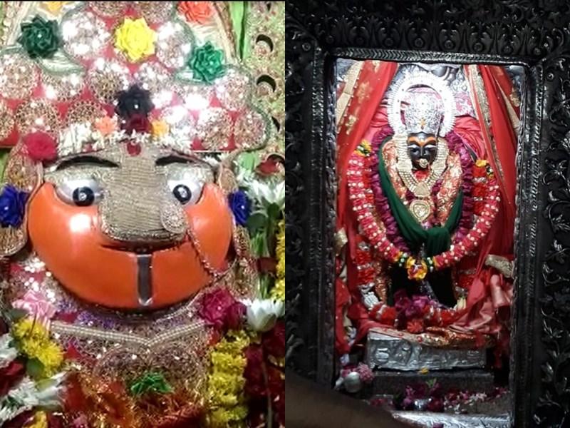 Shardiya Navratri 2019 : नवरात्र के अवसर पर देवी मंदिरों में लगी भक्तों की भीड़