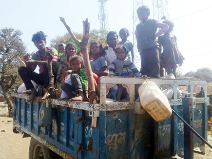 रोजी-रोटी की जुगाड़ में दो दर्जन परिवारों ने छोड़ा श्योपुर