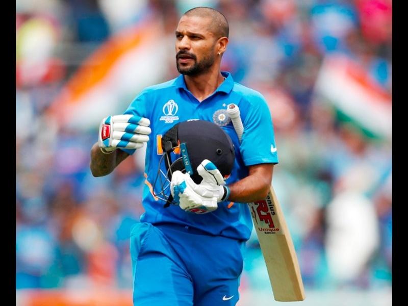 ICC Cricket World Cup 2019:  धवन ने चोट पर पहली बार दी प्रतिक्रिया, राहत इंदौरी का शेर किया पोस्ट