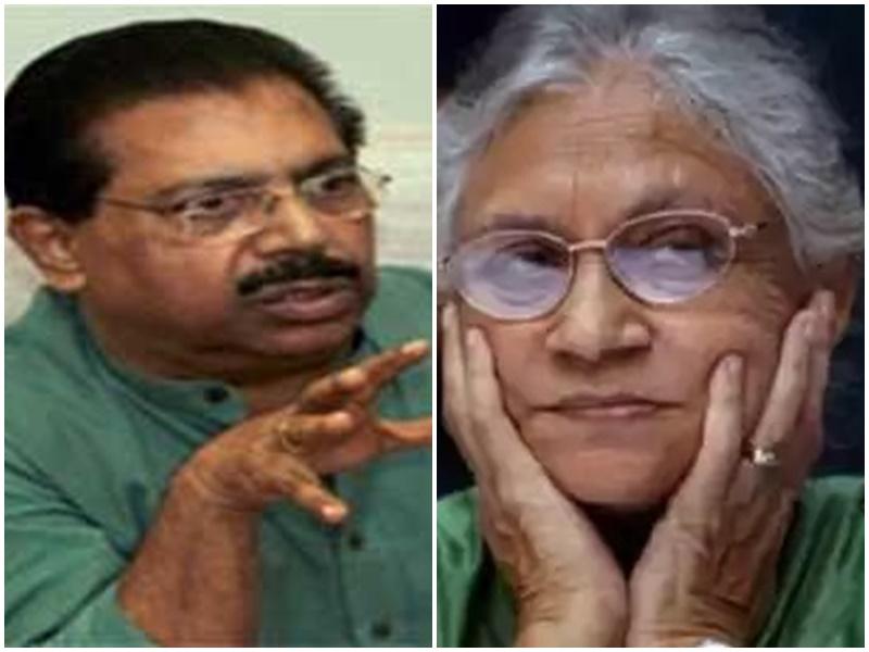 दिल्ली कांग्रेस में गुटबाजी हुई तेज, एक खत से पीसी चाको और शीला दीक्षित में बढ़ा विवाद