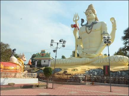 होशंगाबाद में 71 फीट ऊंची शिव प्रतिमा