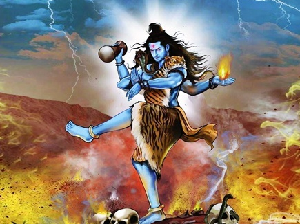 Image result for शिव जी का नटराज रुपpaintings