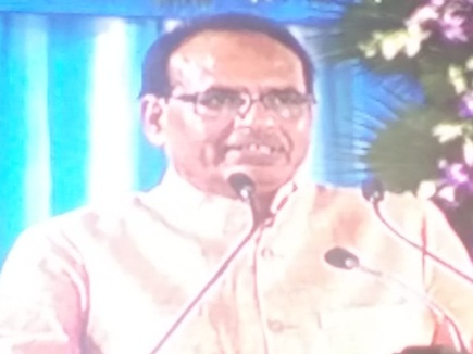 इंदौर में बोले शिवराज- PM मोदी ने साकार किया महात्मा गांधी का सपना