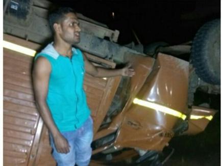 MP : सीधी जिले में पुल से गिरा मिनी ट्रक, 14 लोगों की मौत, 30 घायल